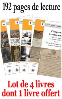 Théma collection de 4 numéros