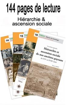 Lot Hiérarchie & ascension sociale