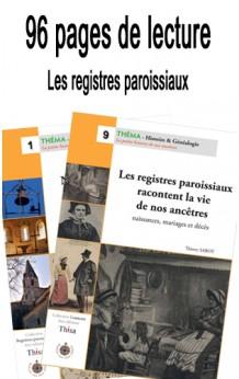 Lot Les Registres paroissiaux