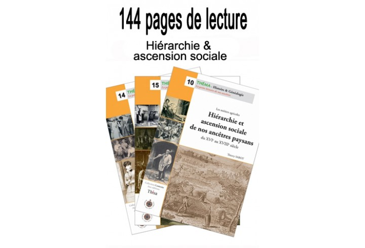 Lot Hiérarchie & ascension sociale